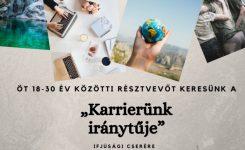 """""""Karrierünk iránytűje"""" – résztvevőket keresünk Szlovéniába, ifjúsági cserére!"""