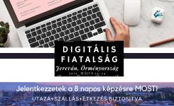 DIGITÁLIS FIATALSÁG – 8 napos képzés Örményországban!