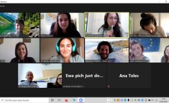"""FIRST TRANSNATIONAL MEETING OF """"STEP 1 PROJECT"""" (ONLINE)"""